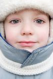 Winter child portrait Royalty Free Stock Photography
