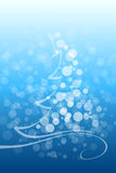 Winter and Christmas background Royalty Free Stock Photography