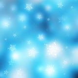 Winter Christmas Background. Winter Stars Background with room for text Stock Images
