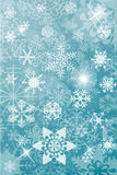 Winter christmas background Stock Image