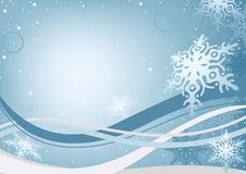 Winter Christmas Background stock illustration