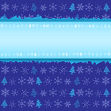 Winter Christmas background Royalty Free Stock Photos