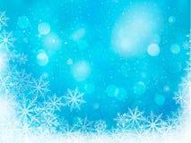 Winter christmas background. Vector illustration Stock Photo