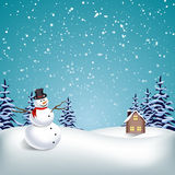 Winter Christmas Background Royalty Free Stock Image