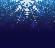Winter christmas background with balls. Background christmas and happy new year Royalty Free Stock Photography