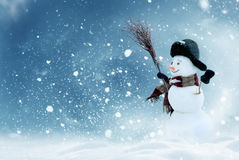 Winter Christmas background. Royalty Free Stock Photo