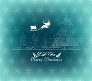 Winter christmas background. Merry christmas background and greeting card design Stock Photos