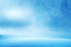 Winter christmas background stock image