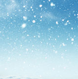 Winter Christmas background. Royalty Free Stock Photography