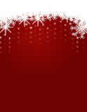 Winter and Christmas Background with Snowflakes royalty free stock photo