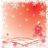 Winter, christmas background, vector Stock Photos