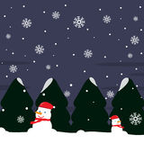 Winter Christmas Background. Vector design 2015 Royalty Free Stock Images