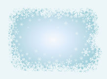 Winter christmas background. Vector illustration Royalty Free Stock Image