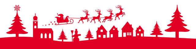 Free Winter Christmas Banner Royalty Free Stock Photos - 60243258