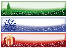 Winter christmas banners,  Stock Photos