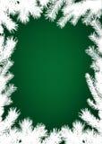Winter christmas border background Stock Photography