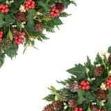 Winter and Christmas Border Royalty Free Stock Image