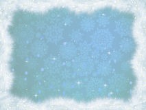 Winter christmas card background. EPS 8 Stock Photo