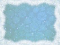 Winter christmas card background. EPS 8 Stock Photo
