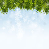 Winter Christmas Decoration Stock Photo