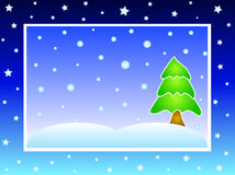 Winter christmas design-VECTOR Stock Image