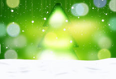 Winter Christmas fir background abstract creative design Royalty Free Stock Images
