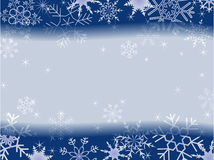 Winter christmas frame patern Stock Image