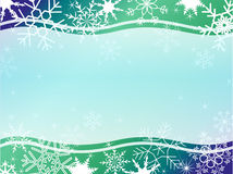 Winter christmas frame patern Royalty Free Stock Photos