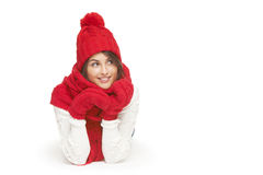 Winter, christmas, holidays concept Stock Images
