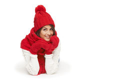 Winter, christmas, holidays concept Royalty Free Stock Photography