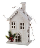 Winter Christmas House Stock Images