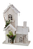 Winter Christmas House Royalty Free Stock Images