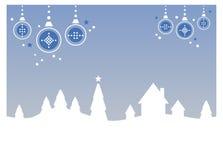 Winter / Christmas Landscape Royalty Free Stock Photos