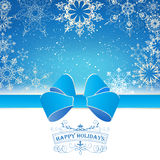 Winter Christmas Landscape Royalty Free Stock Photography