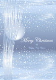 Winter Christmas  light background Royalty Free Stock Photos