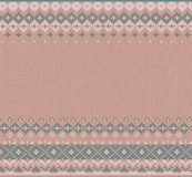 Winter Christmas x-mas knit background Knitted pattern. Flat style design. Royalty Free Stock Images