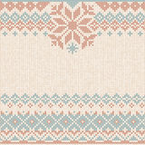 Winter Christmas x-mas knit background Knitted pattern. Flat style design. Winter Christmas x-mas knit background, flyer, invitation. Knitted pattern. Winter Royalty Free Stock Images