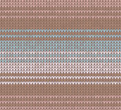 Winter Christmas x-mas knit seamless background Knitted pattern. Flat design. Royalty Free Stock Photography