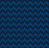 Winter Christmas x-mas knit seamless background Knitted pattern. Flat design. Royalty Free Stock Images