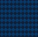 Winter Christmas x-mas knit seamless background Knitted pattern. Flat design. Royalty Free Stock Photo