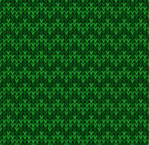 Winter Christmas x-mas knit seamless background Knitted pattern. Flat design. Royalty Free Stock Photos