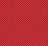 Winter Christmas x-mas knitted seamless abstract background pattern with dots Stock Photography