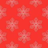 Winter christmas new year seamless Royalty Free Stock Photography