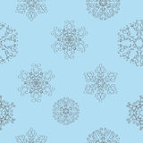 Winter christmas new year seamless pattern Royalty Free Stock Photo