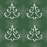Winter christmas new year seamless pattern Stock Image