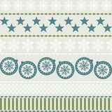 Winter Christmas New Year Seamless Pattern. Royalty Free Stock Photography
