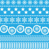 Winter Christmas New Year Seamless Pattern. Royalty Free Stock Images