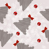 Winter Christmas New Year Seamless Pattern Royalty Free Stock Images