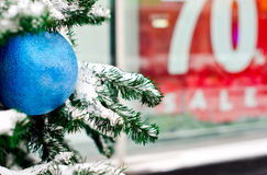 Winter Christmas Sale royalty free stock images