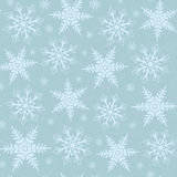 Winter christmas seamless background Royalty Free Stock Image